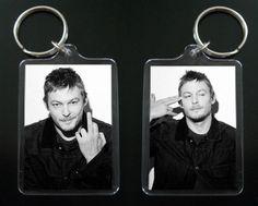 NORMAN REEDUS keychain / keyring Daryl Dixon The Walking Dead on Etsy, $7.99