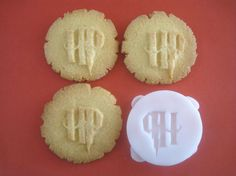 HARRY POTTER inspired logo COOKIE Stamp recipe and by totalum