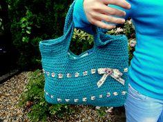 letná zelená taška