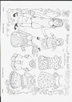 More black and white dolls 2 - Ulla Dahlstedt - Picasa Webalbum
