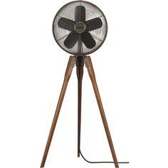 rubbed bronze pedestal fan