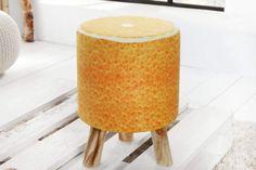 FRUITS narancssárga narancsmintás hokedli 45 cm #lakberendezes #otthon#otthondekor#homedecor #furnishings#design#ideas#furnishingideas#housedesign#livingroomideas#livingroomdecorations#decor #decoration #bohemian #bohemiandecor