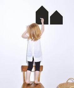 Krijtbord Huisjes - Muursticker E19,50