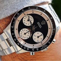 Vintage 6241 Rolex Daytona with Paul Newman Dial from #HauteCollector @youcanneverhaveenough by hautetime
