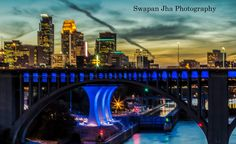 https://flic.kr/p/gvFJn7 | Minneapolis Skyline - Bluehour | Fall sunset in Minneapolis as viewed from the University of Minnesota campus. I used Lee GND filter (2 stop) If interested in purchasing any of my pictures, please visit www.monsoonphoto.biz Copyright © Swapan Jha. All of my images are protected by copyright and may not be used on any site, blog, or forum without my permission.