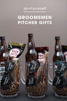 To See These Awesome Groomsmen Beer Pitcher Gifts! Check out these awesome Groomsmen beer pitcher gifts!Check out these awesome Groomsmen beer pitcher gifts! Groomsmen Invitation, Groomsmen Proposal, Bridesmaids And Groomsmen, Bridesmaid Gifts, Bridesmaid Proposal, Ask Groomsmen, Groomsmen Socks, Bridesmaid Boxes, Gifts For Wedding Party