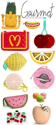 Fashion Feast: Food Shaped Carryalls - Dine X Design