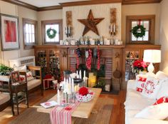 Itsy Bits and Pieces: The Bachman's 2013 Holiday Ideas House...