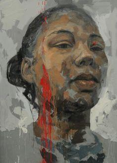 Lionel Smit painting