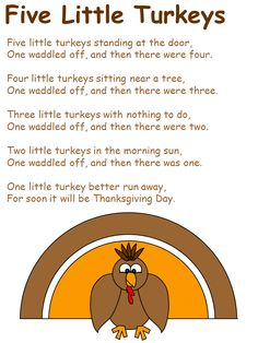 Thanksgiving Day Poems – Find here some of very beautiful thanksgiving day poems for you. The collection of thanksgiving poem or poetry portray the beauty of thanksgiving day. Preschool Music, Fall Preschool, Preschool Lessons, Preschool Activities, November Preschool Themes, Halloween Songs Preschool, Turkey Crafts Preschool, Preschool Quotes, Preschool Class