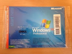 Dell Windows XP Professional with SP2 Reinstallation CD  Only £10.99 Free UK Delivery  (Media only, No product key is included.  Software is intended to be used for reinstallation of Windows and use your current product key. Or to be distributed with a refurbished computer.)