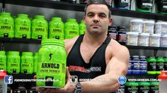 Arnold Iron Whey Review Genesis.com.au - Genesis Nutrition Australia. Shop online 24/7 with the Lowest Prices! Australian owned and Operated Shipping Nationwide Daily.