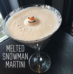 Melted Snowman Martini                                                                                                                                                                                 More