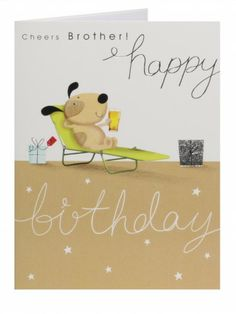 Birthday Card - Brother