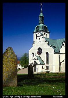Church near Granna. Gotaland, Sweden