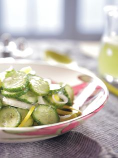 Tricia Yearwood Cold Cucumber Salad