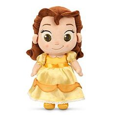 Disney Toddler Belle Plush Doll - Beauty and the Beast - Small - 12'' | Disney StoreToddler Belle Plush Doll - Beauty and the Beast - Small - 12'' - Book a playdate with Belle, as imagined during her toddler days. This adorable plush doll is so soft and huggable, she's sure to transform your life!