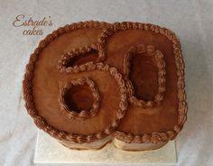 Estrade's cakes: tarta del número 60, con mucho chocolate.