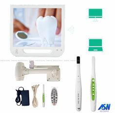 368.60$  Watch now - http://aliahi.worldwells.pw/go.php?t=32737965833 - 2017 NEW 5.0mega pixels HD WIFI dental intra-oral camera with LCD display all in one machine with monitor holder 8G USB disk  368.60$