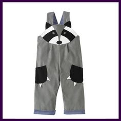 Wild Things Raccoon Dungarees