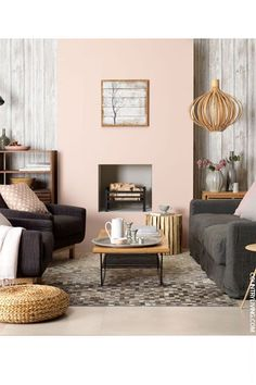 Living room furnishings 2018 - trends in couch design, colors and decoration # ideas # . Wohnzimmer Einrichtung 2018 – Trends im Couch Design, Farben und Deko Living room furniture 2018 – trends in couch design, colors and decoration # Peach Living Rooms, Blush Living Room, Romantic Living Room, Coastal Living Rooms, My Living Room, Living Room Furniture, Living Room Decor, Living Spaces, Grey Furniture