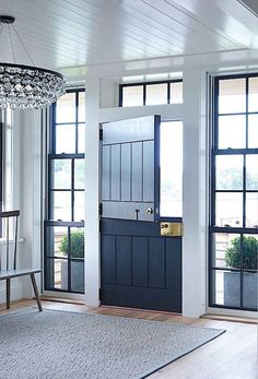 Studio McGee | Friday Inspiration: Our Top Pinned Images This Week. WINDOWS SURROUNDING DUTCH DOOR