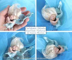 Celidonia Studio: Piccola Sirena ooak - Polymer Clay Video Tutorial