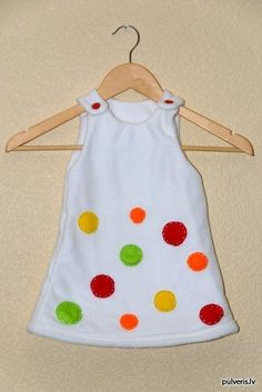 Fleece dress for my daughter to wear on Christmas day