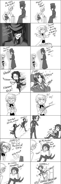 Basically the first episode of Black Butler ll