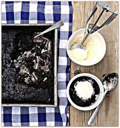 Hot Fudge Pudding Cake...the name says it all!
