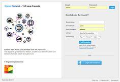 Hier bieten wir Ihnen ein Network Community System der Extraklasse. Ein User meldet sich an und hat Zugriff auf Spiele, kann mit User Chatten, Freundschaften Anfragen, Nachrichten versenden und empfangen, Bewertungen für User abgeben, Bilder und Videos hochladen. Ausgabe mit Demoserver.