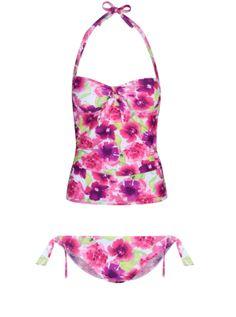 Buy the Floral Watercolour Tankini at George at ASDA. Part of our Swimwear range at George Floral Watercolor, Watercolour, Asda, Summer Wardrobe, String Bikinis, Tankini, Swimwear, Summer Days, Stuff To Buy