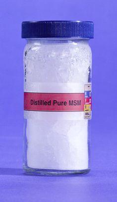 Msm Organic Sulfur Sulphur 500g Patrick Mcgean Natural
