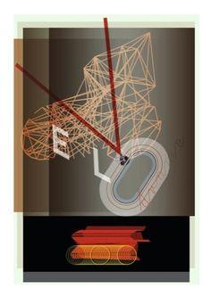 VELODROME – Jonathan Barnbrook - Alternative Olympic Posters