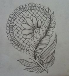 Border Embroidery, Hand Work Embroidery, Embroidery Fashion, Hand Embroidery Patterns, Embroidery Art, Embroidery Stitches, Mehndi Designs Book, Mehndi Design Pictures, Art Drawings Sketches Simple