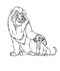 The Lion King Coloring Pages Free from Cartoon Lion King Coloring Pages for Kids. Coloring The Lion King is excellent leisure time for a child who loves an animated masterpiece by Walt Disney Studio. Here you will find coloring pict. Nala Lion King, Scar Lion King, Simba Lion, Lion King Fan Art, Lion King Movie, Disney Lion King, Baby Simba, Lion Coloring Pages, Disney Coloring Pages