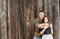Rustic Barn Engagement Love the outfits and pose