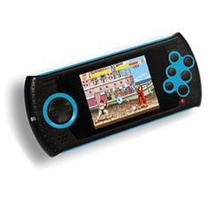 """Arcade Ultimate Portable - An officially licensed Sega Genesis/Mega Drive portable from AtGames with builtin 40 games (and additional 40 """"arcade"""" games.) An SD card slot can expand the amount of games further."""