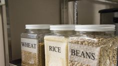 Three-Month Food Storage: Use What You Eat, Eat What You Store