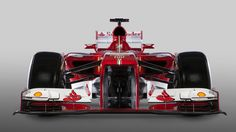 Ferrari F138 aims to make rivals see red. A cleaner look and myriad improvements for 2013.