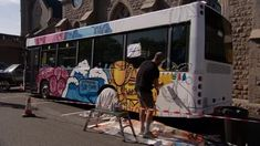 Bus gets makeover as a part of Jersey's Democracy Week | ITV News Channel