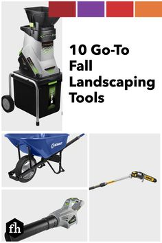 10 Go-To Fall Landscaping Tools
