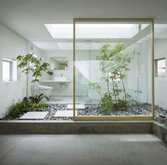 Indoor garden/atrium #garden #atrium #indoorgarden