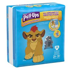 """Huggies Pull-Ups Training Pants with Learning Designs for Boys 2T-3T - 25 Count - Kimberly Clark Corp. - Babies """"R"""" Us"""