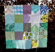 Neat Block!  I would like to try this in larger blocks.  Layer cake here I come.