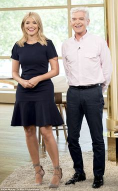 Holly Willoughby and Philip Schofield's stellar presenting partnership on This Morning is thanks to Philip's 'naughty' personality, according to Holly