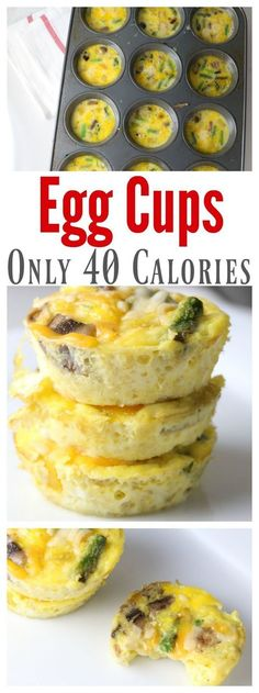 these low calorie egg cups are a great way to start off your day with