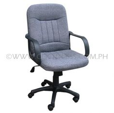 Product Code: MBC-101GRY  Sale Price:P2 799.00  Features: DELUXE MID-BACK  CHAIR WITH RECLIGN MECHANISM & PNUEMATIC HEIGHT ADJUSTMENT  Brand: ERGODYNAMIC