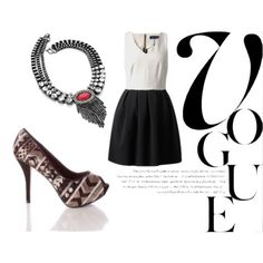 Designer Clothes, Shoes & Bags for Women Monochrome, Shoe Bag, Classic, Creative, Polyvore, Stuff To Buy, Shopping, Collection, Shoes