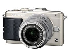 Olympus Mirrorless SLR E-PL6 with M Zuiko Digital 14-42mm Lens (Silver) - International Version. 16 Mega Pixel Live MOS sensor. 3-Axis In Body image stabilization. Interval shooting mode plus Time Lapse movie. ISO range from 100 to 25,600.